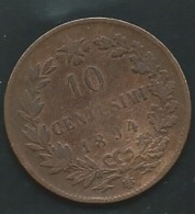 10 CENTESIMI 1894 ITALIE  Pieb 24404 - 1861-1946 : Kingdom