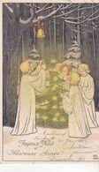 CPA Illustrateur : EBNER Pauli.  (M.M.VIENNE ,n°471.)   Carte écrite En 1910. - Ebner, Pauli