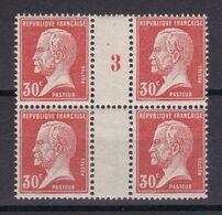 MILLESIMES / N° 173 BLOC DE 4 NEUF**  / 2 SCANS - Collections