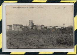 DPT 66 . - . CLAIRA - VUE GENERALE. Environs De PERPIGNAN. FAU & CAMPISTRO EDIT. - Frankrijk