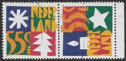 NVPH 1628-1629 - 1994 - Decemberzegels - Oblitérés