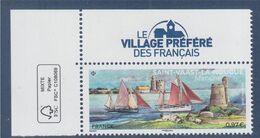 Saint Vaast La Hougue Manche Coin Avec Logo éco à 0.97€ Le Village Préféré Des Français En 2019 - Nuovi