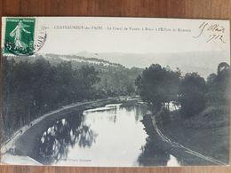 Chateauneuf Du Faou.le Canal De Nantes à Brest à L'écluse De Rizernic.édition Villard 6730 - Châteauneuf-du-Faou
