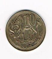 //  ETHIOPIE  10  CENTS  1969 ( 1977 ) - Etiopía