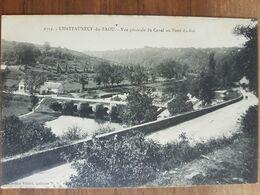 Chateauneuf Du Faou.vue Générale Du Canal Au Pont Du Roi.édition Villard 6719 - Châteauneuf-du-Faou