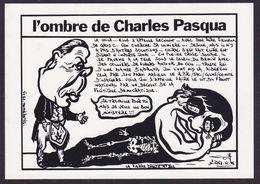CPM Vosges Epinal Philippe Seguin Tirage Limité 50 Ex Numérotés Pasqua - Epinal