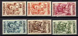 Saargebiet, 1931, Mi 144-149 *, Volkshilfe [010720L] - Territoires Soumis à Plébiscite