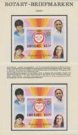 106 - Rotary Club Neuf ** [MNH] Liberia 1979 Dentelé + NON DENTELE (imperforate) - Rotary, Lions Club