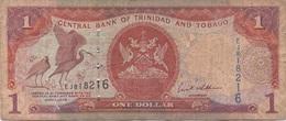 Trinidad & Tobago : 1 Dollar Très Mauvais état - Trinidad En Tobago
