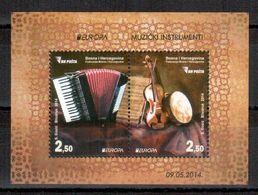 Bosnien-Herzegowina / Bosnia-Herzegowina Sarajevo / Bosnie-Herzégowine 2014 Block/souvenir Sheet EUROPA ** - Europa-CEPT