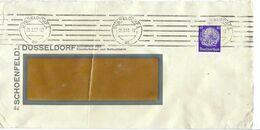 ALLEMAGNE 1933: LSC  De Düsseldorf Pour Nyon (Suisse) Affr. De TP Perforé De 40 Pf. Avec Obl. CAD - Germany