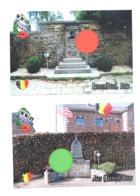 José ( Battice) HERVE - Lot De 2 CP - Monument Guerre 40/45 - WW II  (Y123) - Herve