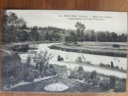 Chateauneuf Du Faou.pont-pol Ty Glaz.boucle De L'aulne - Châteauneuf-du-Faou