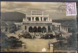 Indochina Indochine Vietnam Annam Vintage Postcard : Nha Trang, Grand Hotel Beau Rivage - Vietnam