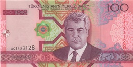 Turkménistan : 100 Manat UNC - Turkménistan