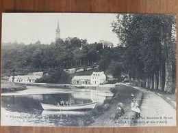 Chateauneuf Du Faou.le Canal De Nantes à Brest.édition Hamonic Le Doaré 3058 - Châteauneuf-du-Faou
