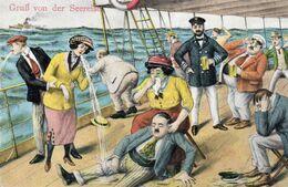 DC2856 - Gruss Von Der Seereise Humor - Wannsee