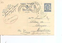 Belgique ( EP De 1942 De Huppeye En Relais Vers Phillippeville à Voir) - Belgium