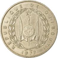 Monnaie, Djibouti, 100 Francs, 1977, Paris, TTB, Copper-nickel, KM:26 - Djibouti