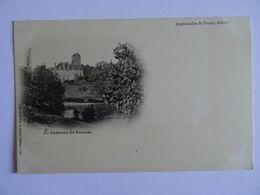 CPA  03  Arpheunilles St-Piest Chateau De Ronnet Dos Simple 19.. TBE - Non Classés