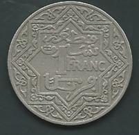 EMPIRE CHERIFIEN Morocco 1 Franc 1921 To 1924 Non Daté  PIEB 24603 - Maroc