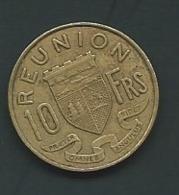 REUNION - 10 FRANCS 1970  PIEB 24604 - Réunion