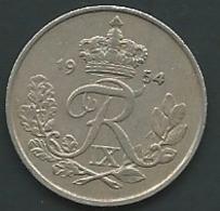 DENMARK / DANEMARK 25 Ore 1954 PIEB 24608 - Dänemark