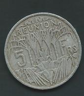 MONNAIE REUNION 5 FRANCS 1955 Pieb 24612 - Réunion