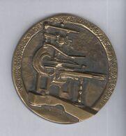 Médaille Journal Le Bien Public Dijon - 135ème Anniversaire 1850 - 1985 - Professionali / Di Società