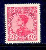 ! ! Portugal - 1910 D. Manuel 20 R - Af. 160 - MH - 1910 : D.Manuel II