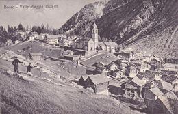 96/ Bosco, Valle Maggia 1506 M, Fotografia Fratelli Büchi, Locarno - TI Tessin