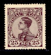 ! ! Portugal - 1910 D. Manuel 25 R - Af. 161 - MH - 1910 : D.Manuel II