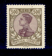 ! ! Portugal - 1910 D. Manuel 500 R - Af. 168 - MH - 1910 : D.Manuel II