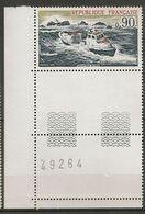 FRANCE 1974 TIMBRE 1791 SAUVETAGE EN MER NUMERO NUMERO DE FEUILLE 49264 - Frankreich