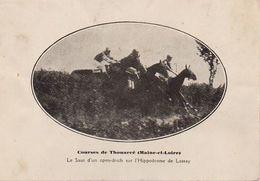 S31-013 Courses De Thouarcé - Le Saut D'un Open-ditch Sur L'Hippodrome De Lassay - Thouarce
