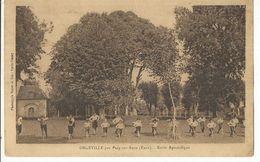 CPA, D.27, Orgeville Par Pacy Sur Eure , Ecole Apostolique, Ed. Hoyer & Cie - Pacy-sur-Eure