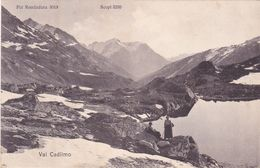 101/ 2x Val Cadlimo, Cadlimohutte S.A.C. Uto, Photo W.Heller - TI Tessin
