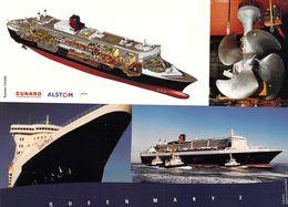 "PAQUEBOT Cunard Alstom "" QUEEN MARY 2 "" - Piroscafi"