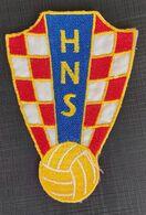 HNS HRVATSKI NOGOMETNI SAVEZ CROATIA FOOTBALL FEDERATION  CLUB, CALCIO OLD PATCHES - Sports