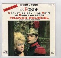 EP 45 TOURS FRANCK POURCEL BO LE FILM DE VADIM LA RONDE EGF 748 En 1964 - Musica Di Film