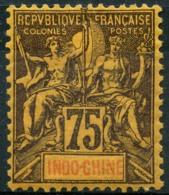 Indochine (1892) N 14 * (charniere) - Neufs