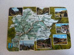 VALLS D'ANDORRA - CARTOGRAPHIE - - Andorra