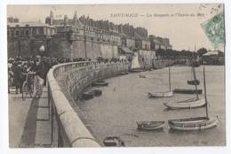 CPA 35 - SAINT MALO (Ille Et Vilaine) - 118. Les Remparts Et L'Entrée Du Môle - ND Phot - Saint Malo
