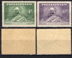 FILIPPINE - 1949 - 75° ANNIVERSARIO DELL'UPU - MNH - Filipinas