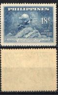 FILIPPINE - 1949 - 75° ANNIVERSARIO DELL'UPU - MH - Filipinas