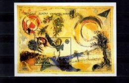 1994 Belarus Euroa CEPT Modern Art 1993 Mark Chagall MS MNH** MiNr. B 4 Art, Bible Message, - Belarus