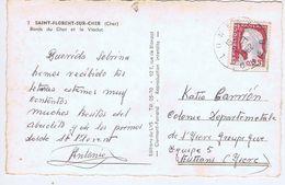 CHER - Cachet Manuel LUNERY Du 6 -8  1962 - Marcophilie (Lettres)