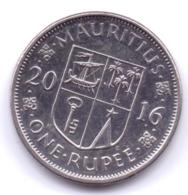 MAURITIUS 2016: 1 Rupee, KM 55a - Mauritius