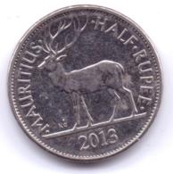 MAURITIUS 2013: 1/2 Rupee, KM 54 - Mauritius
