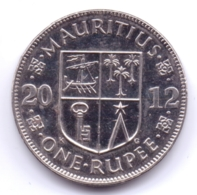 MAURITIUS 2012: 1 Rupee, KM 55a - Mauritius